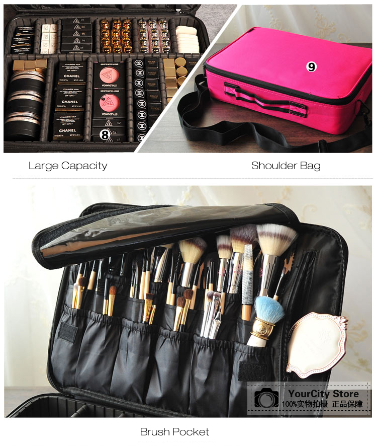 Hd94ce857d6a24c5199456b8d157aed7dm - Women Makeup Bags Cosmetic Case Box Travel Organizer Large Capacity Professional Make Up Pouch Suitcase Brushes Storage Toolbox