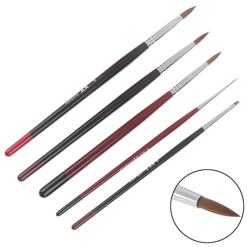 1PCS Dental Porcelain Brush Pen Ceramic Resin Teeth Brush Dental Lab Equipment Dentist Tools Cleaner Tools Random Color