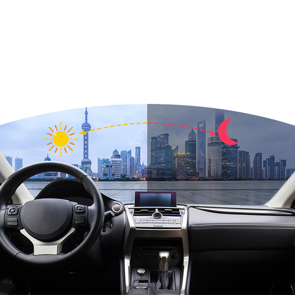Sunice Smart Changed VLT69%-25% Car Window Film Nano Ceramic Solar Tint Photochromic Film Car Accesories Car Sunshade Films