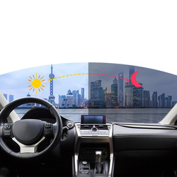 Sunice inteligentny zmienić VLT69 % 25% okna samochodu Film Nano ceramiczne odcień słoneczny fotochromowe folii akcesoria samochodowe osłona przeciwsłoneczna do samochodu filmów w Okno przednie od Samochody i motocykle na