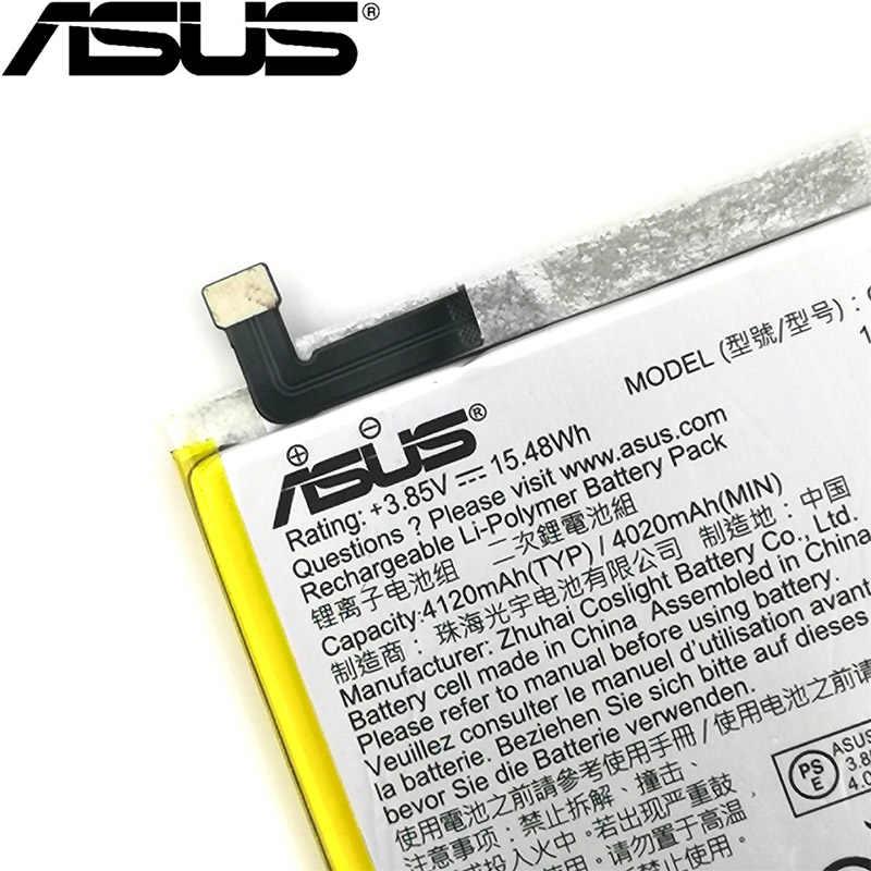 آسوس 100% الأصلي 4120mAh C11P1609 البطارية ل آسوس zenfone 3 ماكس 5.5 ZC553KL X00DDA zenfone 4 ماكس 5.2 ZC520KL X00HD الهاتف