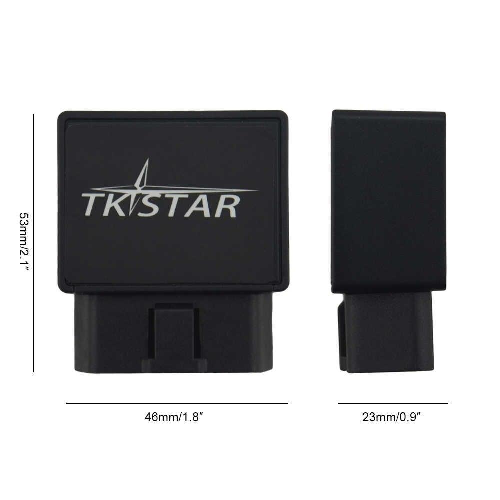 TK STAR Car OBD gps-трекер TK816 gps GPRS GSM устройство слежения за сверхскоростной сигнализацией трекер для отслеживания в режиме реального времени устройство сигнализация при землетрясении Бесплатная платформа