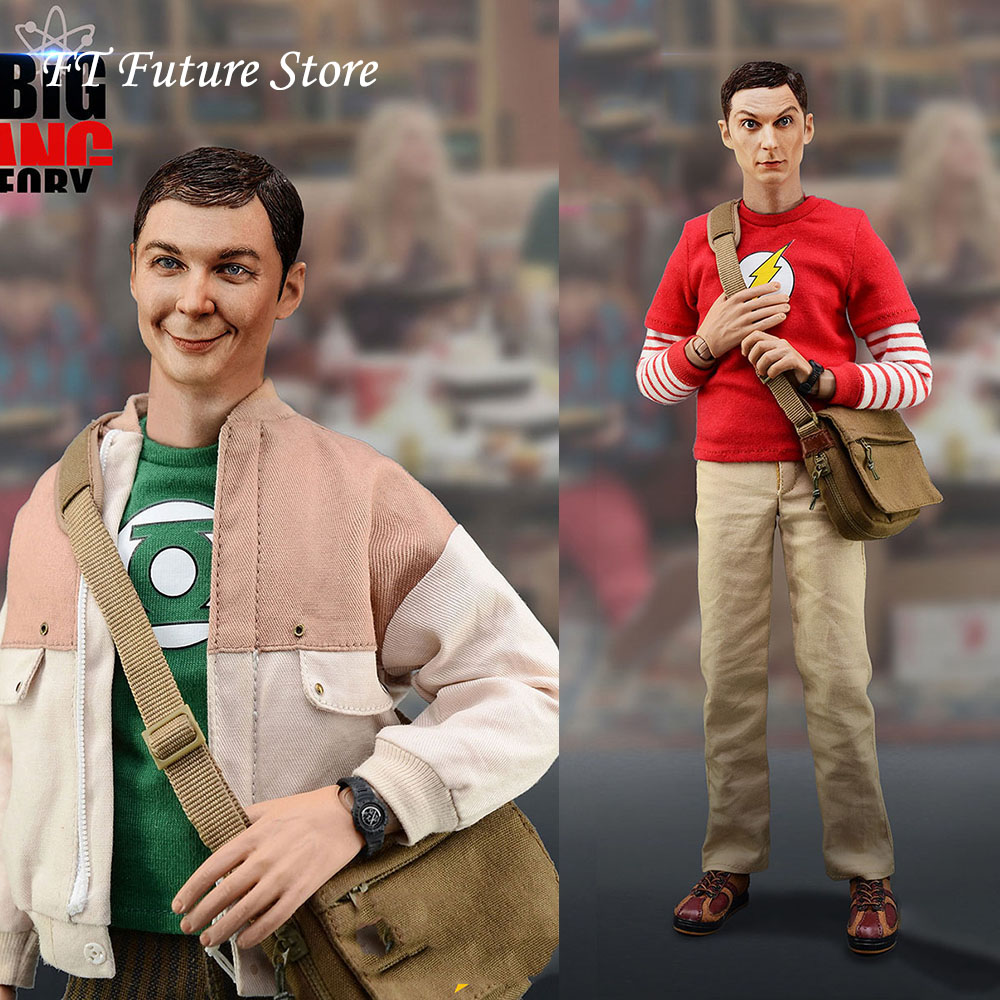 1//6 BBK BBK06 The Big Bang Theory Sheldon Lee Cooper Genius Scientist Figure