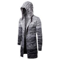 Сплошной Новый Мужской Повседневный свитер осень зима теплая мужская одежда