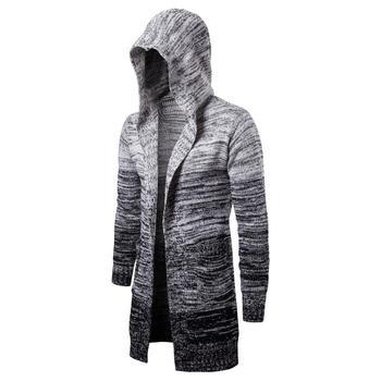Katı yeni erkekler Casual kazak sonbahar kış sıcak erkek giyim