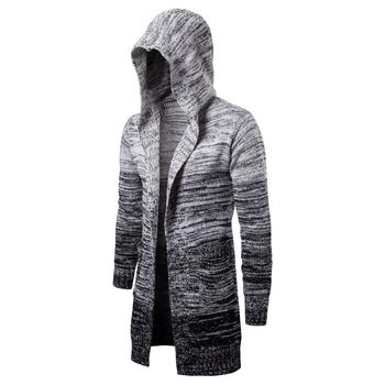 Solid  New  Men Casual  Sweater Autumn Winter Warm  Men Clothes