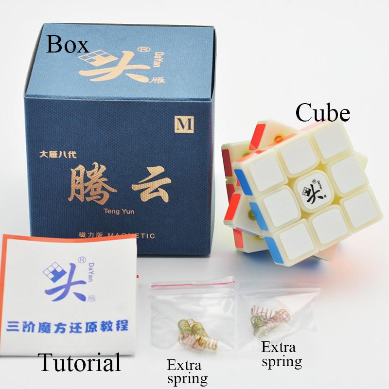Image 3 - Dayan TengYun M 3x3x3 V8 Magnetic Magico Cubes Professional Tengyun 3x3x3 M Toys Gift Game Kids Educational ToysMagic Cubes   -