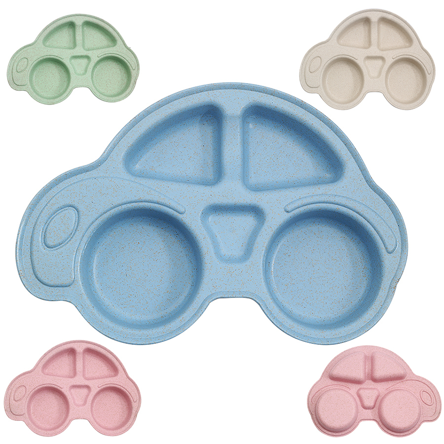 Baby Bowls Plate Tableware Children Food Container Placemat Dishes Infant Food Feeding Bowl Child Kids Feed Plate New Dinnerware