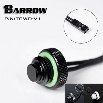 Barrow TCWD-V1/TCWDL-V1 , 10K temperature water stop sealing plugs , G1/4 water cooling plugs ,Standard type and Extended type цена 2017
