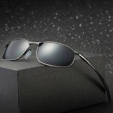 Brand Polarized Sunglasses Metal Frame Square Classic Male Sunglass Men Driving Sun glasses UV400 Shades gafas de sol hombre