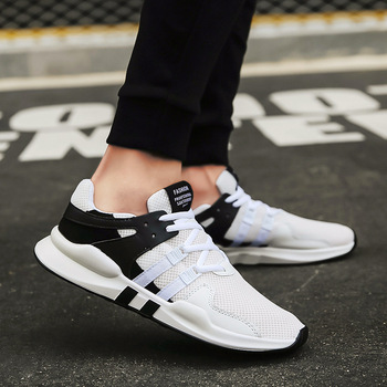 Lightweight Comfortable Breathable Couples Walking Sneakers Spring New Men Casual Shoes Lace up Men Shoes Tenis Feminino Zapatos 2020 men shoes spring autumn running sneakers lace up comfortable casual sports shoes men lightweight walking breathable shoes