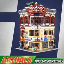 DHL, 01006, китайские строительные игрушки, серия, игрушки MOC и книжный магазин, набор, строительные блоки, кирпичи, наборы для сборки, детские рождественские игрушки
