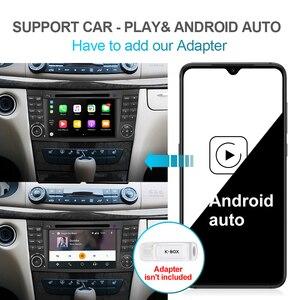 Image 4 - Isudar PX6 Android 10 2 DIN Máy Nghe Nhạc Đa Phương Tiện Cho Xe Mercedes/Benz/E Cấp/W211/e300/CLK/W209/CLS/W219 Đầu DVD GPS Đài Phát Thanh