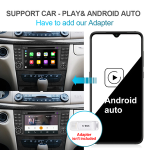 Image 5 - Isudar PX6 Android 10 Two Din Car Multimedia Player For Mercedes/Benz/E Class/W211/E300/CLK/W209/CLS/W219 DVD Player GPS Radio