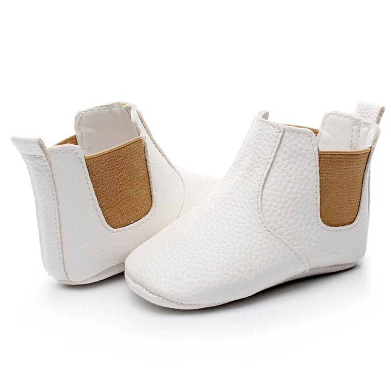2019 Wholesale Pu Leather Baby Moccasins Shoes Fall Fashion New Style  Soft Sole Baby Girls Boys Shoes First Walkers Baby Boots