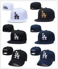 YIGA 2021 New Los Angeles Snapback cappelli uomo Cool berretti da Baseball adulto Flat Peak Hip Hop LA snapback Cap uomo donna Gorra