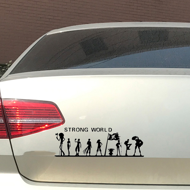 Reflective Sticker Trunk Pirate-Pattern Decals Decor Vinyl Car-Styling 1pc Label Strong-World