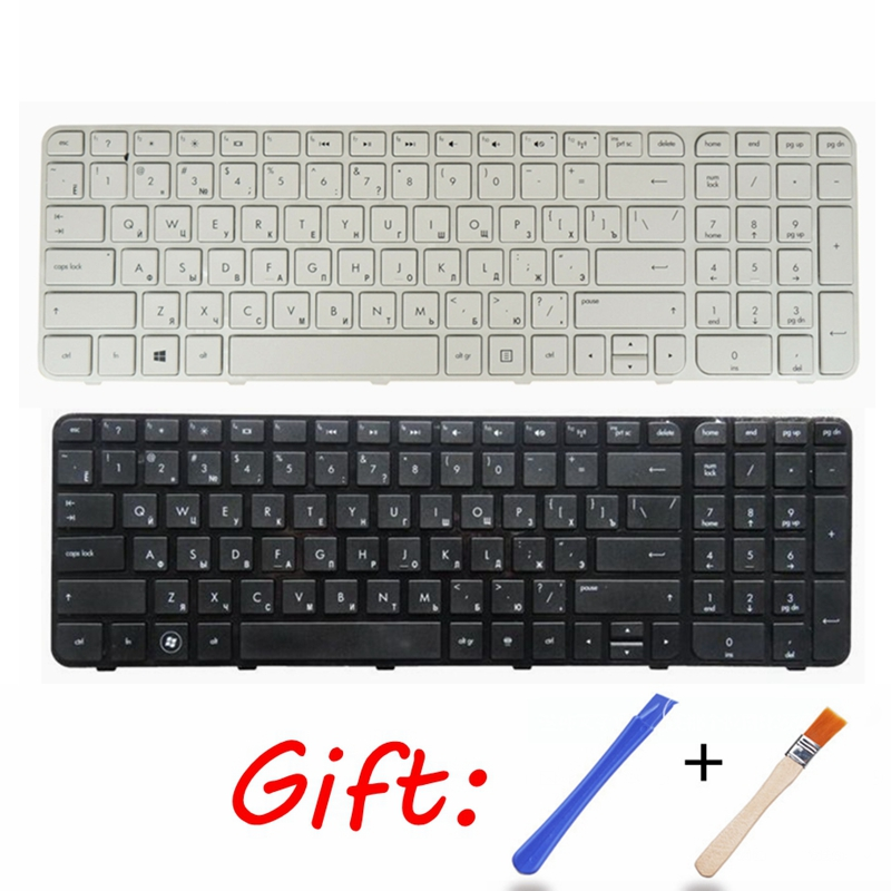 RU FOR HP For Pavilion G6-2000 G6-2100 G6-2200 G6-2211SR G6-2300 Russian Laptop Keyboard Black Or White