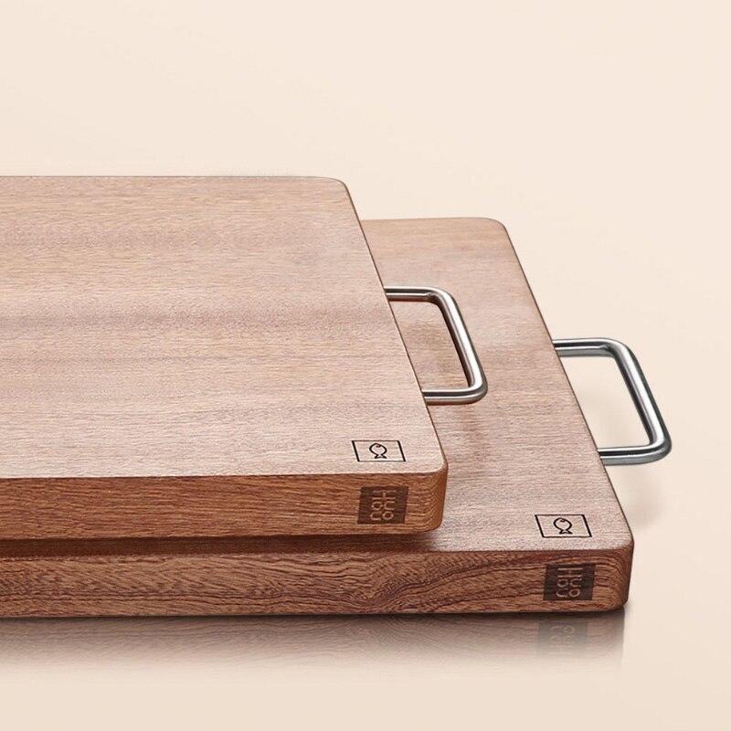 Xiaomi mijia huohou placa de cortar madeira cozinha placa de corte grosso ferramentas de carne vegetal acessórios cozinha placa de cortar - 3