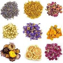 9 taschen Getrocknete Blume Und Kraut Natürliche Mehrere Trockenen Blume Kräuter Set Rosenknospen Lavendel Jasmin Chrysanthemen Düfte Für Diy
