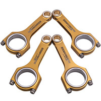 Titanizing Connecting Rods Conrods For Mitsubishi Lancer 4B11 4B11T Engine 2007 2017 149.2mm Con rods Bielles Pleuel Pistons  Rings  Rods & Parts    -