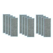 12 قطعة تنظيف الملابس اكسسوارات ل IRobot برافا جت M6 (6110) واي فاي متصل روبوت ممسحة مكنسة كهربائية تنظيف الملابس IRobot