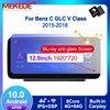 MEKEDE Android 10 samochodowy odtwarzacz multimedialny dla Mercedes Benz C klasa W205 GLC V klasa Radio GPS duży ekran 12.5 Cal 1920*720 FM BT