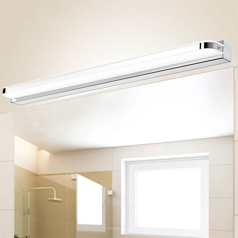 LED Wall Lamp Bathroom Acrylic Mirror Light Washroom Wall Light Waterproof Tube Wandlamp Modern Vanity Light Lampara Pared 9 12W|LED Indoor Wall Lamps| |  - title=