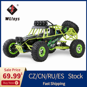 Wltoys 1/12 12428 RC Car 50KM/H High speed RC Climbing Car Toy Scale 2.4G 4WD Off-road Vehicle Remote Control Car Toys Kids Gift(China)