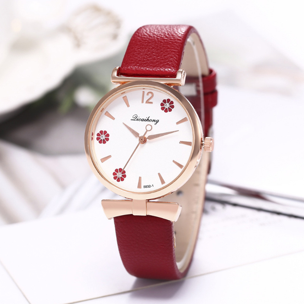 Women Watches Fashion Bracelet Watch Ladies Clock Feminino Relogio Leather Analog Quartz Wrist Watch Female Montre Femme Gift #W