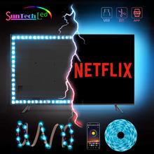 Suntech Led Strip, SMD 5050 USB Powered LED Strip Light, Bluetooth With App Control TV Led Backlight Decoration For TV