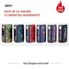 IJoy – Box double résine Mod Shogun Univ 180W, double batterie, Vape, Cigarettes électroniques VS squonk Mech Mod Voopoo Drag 2