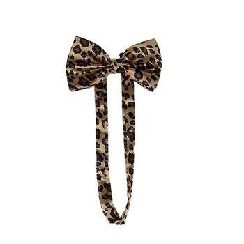 2020 New Unisex Suspender Bow Tie Set Wide Leopard Print Adjustable 3 Clip-On Y-Back Belt 8