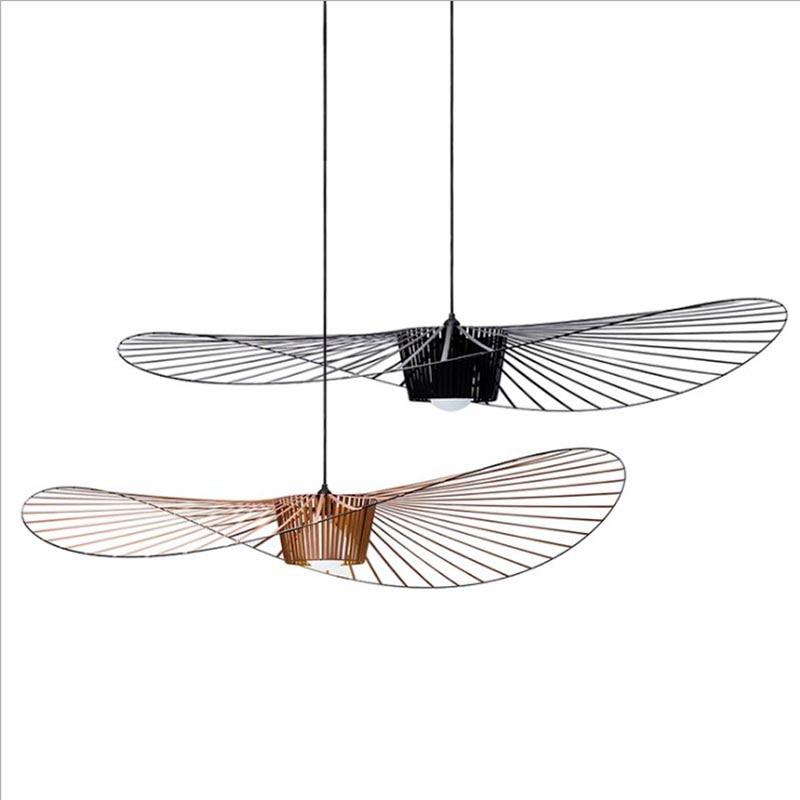 Vertigo Suspension Suspension E27 Suspension pour Restaurant chambre/salon chapeau pendentif lampes décor lumière Vertigo lampe