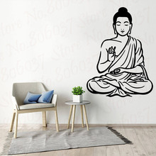 Buddha Wall sticker Home Decor Vinyl Wall Stickers For Living Room Bedroom Sticker Mural Room Decoration Wall Decals WL2022 classic car wall sticker for boy bedroom decor kids room decoration vinyl roadster vinyl wall decor stickers mural poster