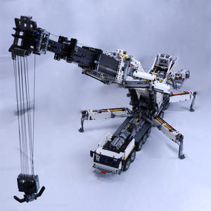 Building-Block Liebherr LTM11200 Crane Technic MOC with PF Remote-Control Vehicle Rc-Toy