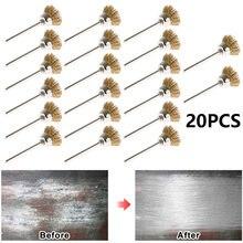 20 штук 5 мм Медный провод Кисти миска Тип металла для удаления