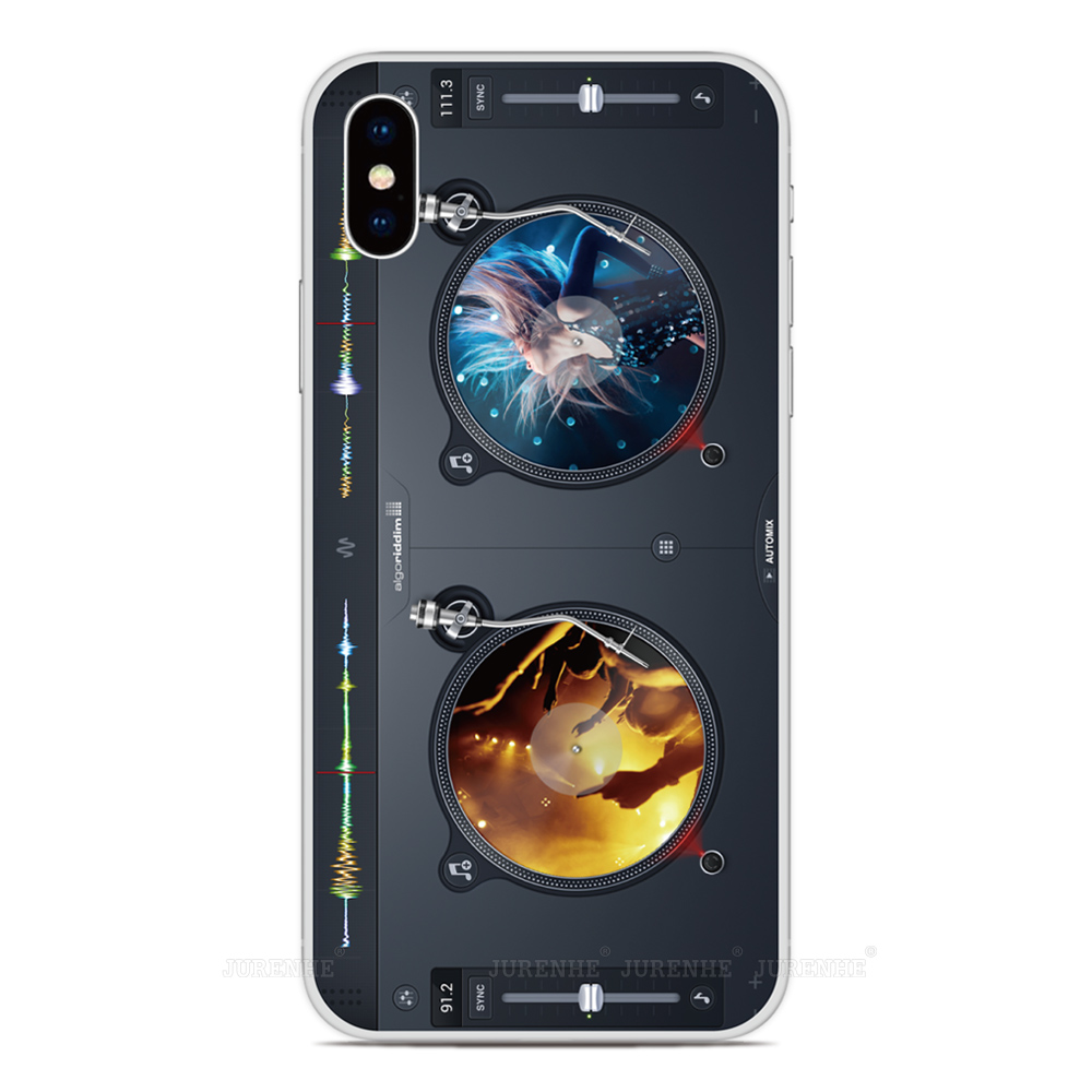 2019 DJ Turntables Silicone Soft TPU Phone Case For LG K50s K40s K20 K30 K40 K50 Q60 X2 G8X G8S V60 Thinq K61 K51S K41S Cover
