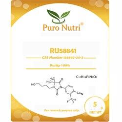 Solución para la pérdida de cabello ru58841 en polvo 154992-24-2 más 99 por ciento de pureza envío gratis