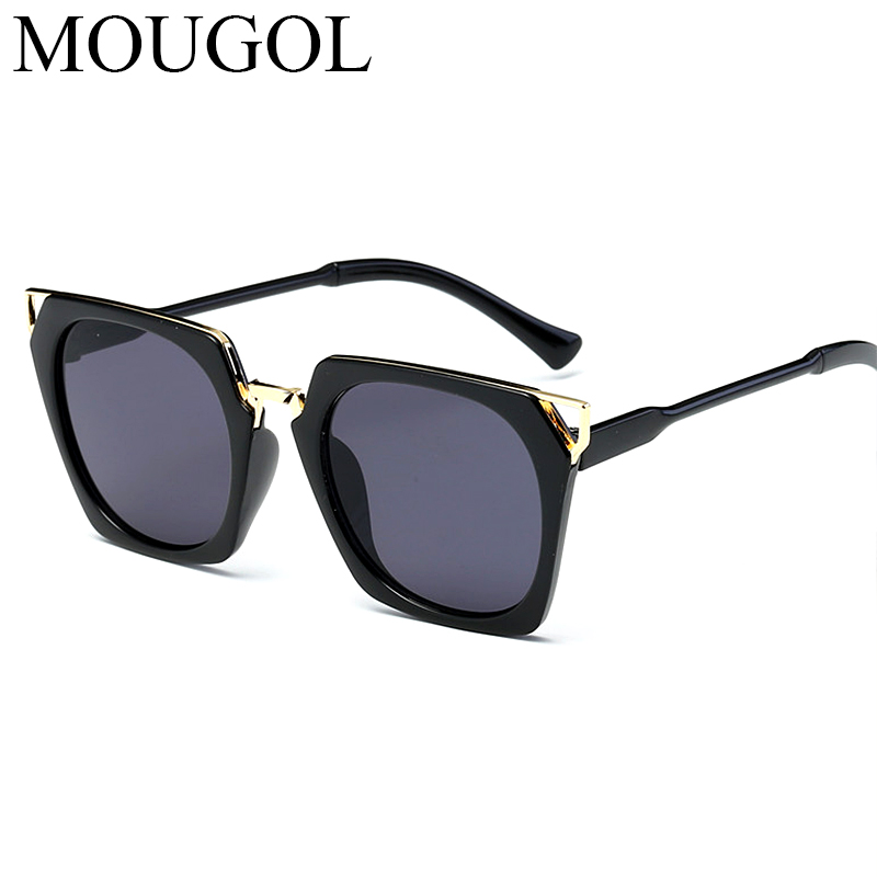 MOUGOL New Hot Vintage Oversized Square Sunglasses Women Luxury Brand Fashion Sun Glasses Female Oculos De Sol Gafas in Women 39 s Sunglasses from Apparel Accessories