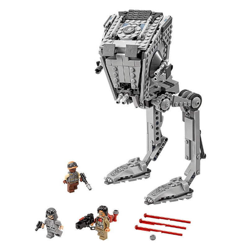 New The Rogue One Imperial AT-ST Walker Fit Legoinglys Star Wars Robot Figures Building Block Bricks Gift Kid Set Diy Toys