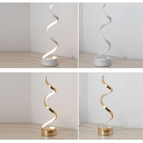 nova arte minimalista candeeiros mesa led