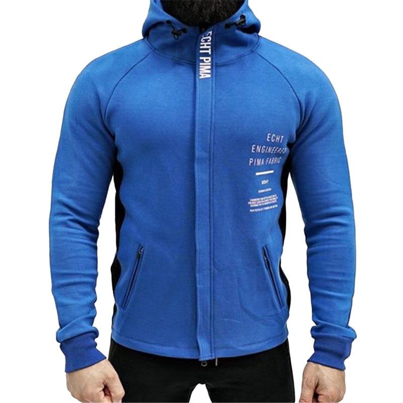Men's Sweatshirt Autumn Winter New Zipper Hoodie Sweatshirt Casual  Soft Comfortable Gyms Bodybuilding Hoodie Men