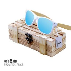 Image 5 - Mens Sunglasses BOBO BIRD Bamboo Legs Polarized Lens Sun Glasses Women Men with Wood Gift Boxes Colors Sunglasses for Him OEM