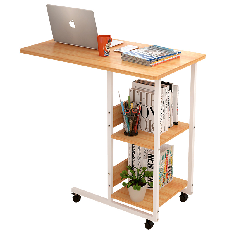 School Conventional Household Lifting Folding Laptop Table Bed Mobile Bedside Table Contracted