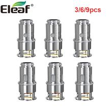 3 sztuk partia Eleaf śladu środowiskowego głowica cewki śladu środowiskowego 0 3ohm cewki EF-M 0 6ohm cewki dla Pesso zbiornik e-cig parownik atomizer cewki dla iStick T80 zestaw tanie tanio Eleaf Pesso Tank Eleaf EF Coil Head Podwójny DS EF 0 3ohm and EF-M 0 6ohm 3pcs pack