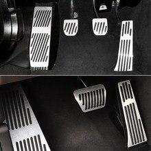 Para BMW série 3 5 E30 E32 E34 E36 E38 E39 E46 E87 E90 E91 X5 X3 Z3 Gás Pé Resto de Combustível Freio Pedal Pads Covers Acessórios Car