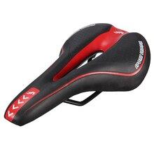 цена на YAFEE Bicycle saddle Bicycle Seat Gel Mount Bike Saddle Bicycle Racing Bicycle Saddle Black and Red