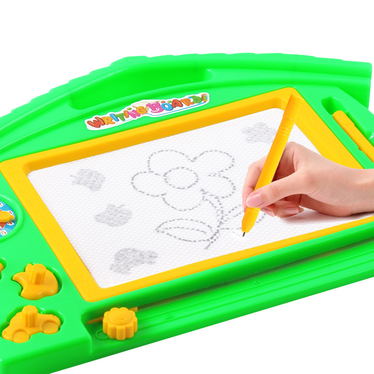 Children Black And White Drawing Board Doodle Board Drawing Board Magnetic Black And White Writing Board Men And Women Learning