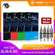 Hot Sale Disposable Cartridge Needles 100pcs for Permanent Makeup Mahcine Kit Tattoo Gun Supplies
